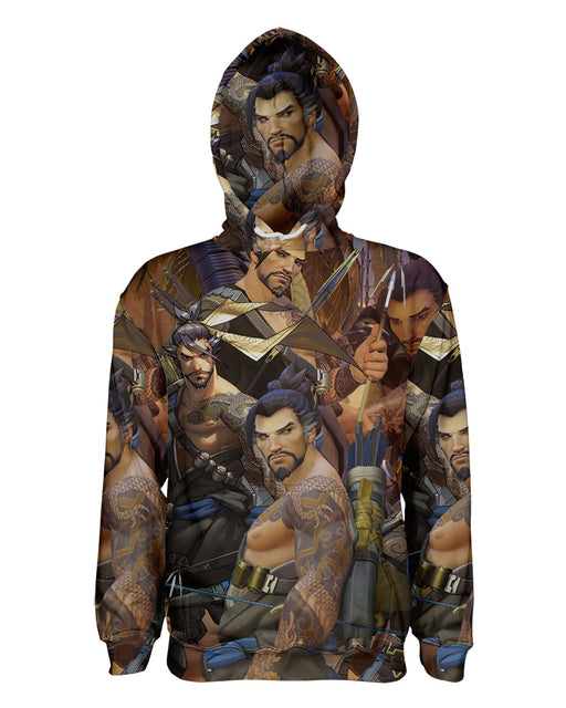 Hanzo Overwatch printed all over in HD on premium fabric. Handmade in California.