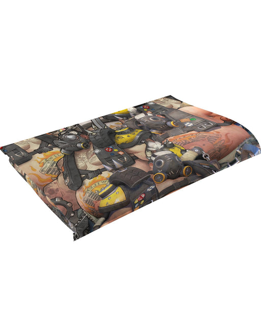 Roadhog Overwatch Fluffy Blanket
