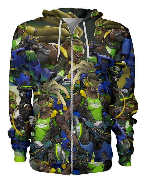 Lucio printed all over in HD on premium fabric. Handmade in California.