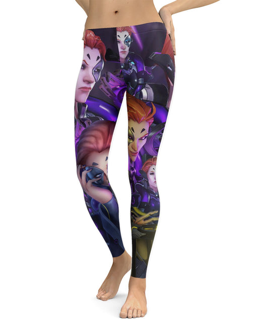 Moira printed all over in HD on premium fabric. Handmade in California.