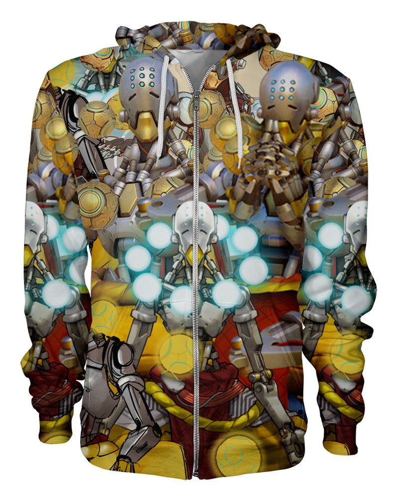 Zenyatta printed all over in HD on premium fabric. Handmade in California.
