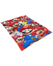 Mario Fluffy Micro Fleece Throw Blanket