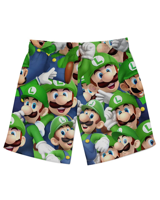 Luigi Athletic Shorts