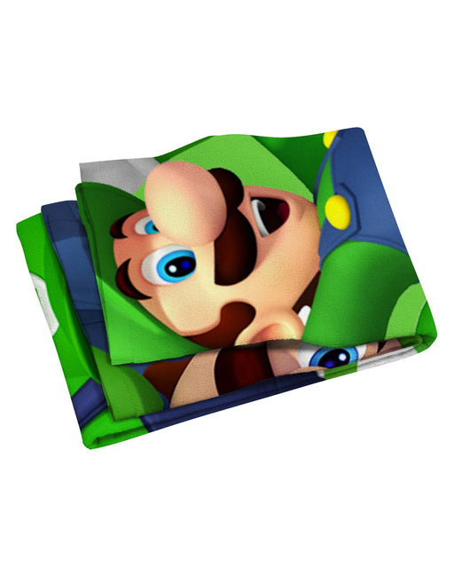Luigi Beach Towel