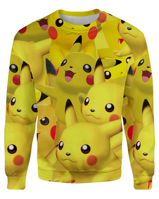 Pikachu printed all over in HD on premium fabric. Handmade in California.