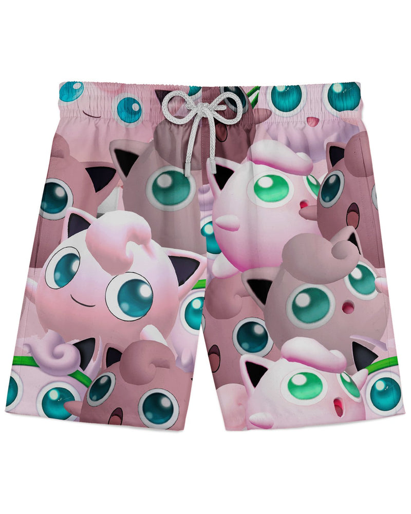 Jigglypuff Super Smash Bros Athletic Shorts