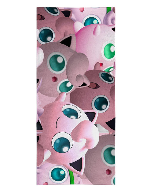 Jigglypuff Super Smash Bros printed all over in HD on premium fabric. Handmade in California.