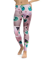 Jigglypuff Super Smash Bros Leggings