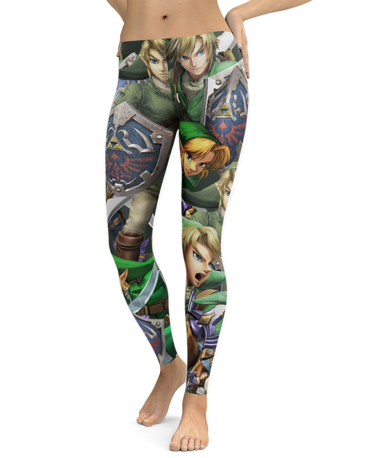 Link Super Smash Bros Leggings