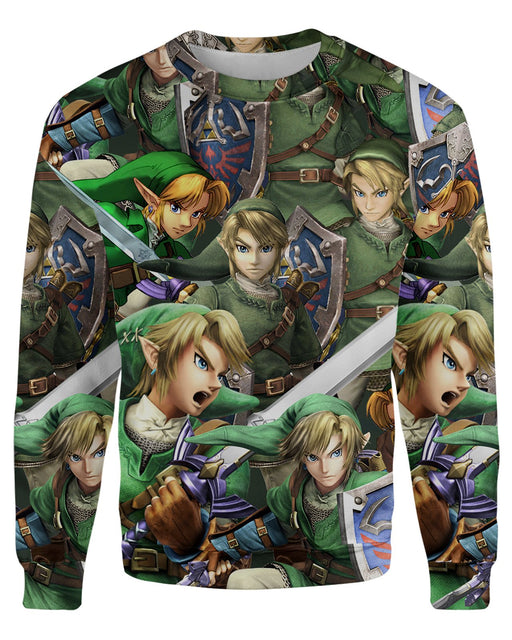 Link Super Smash Bros Sweatshirt