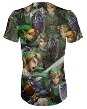 Link Super Smash Bros T-shirt