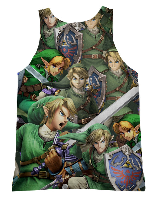 Link Super Smash Bros Tank-Top