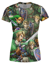 Link Super Smash Bros Women's T-shirt