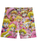 Peach Super Smash Bros Athletic Shorts