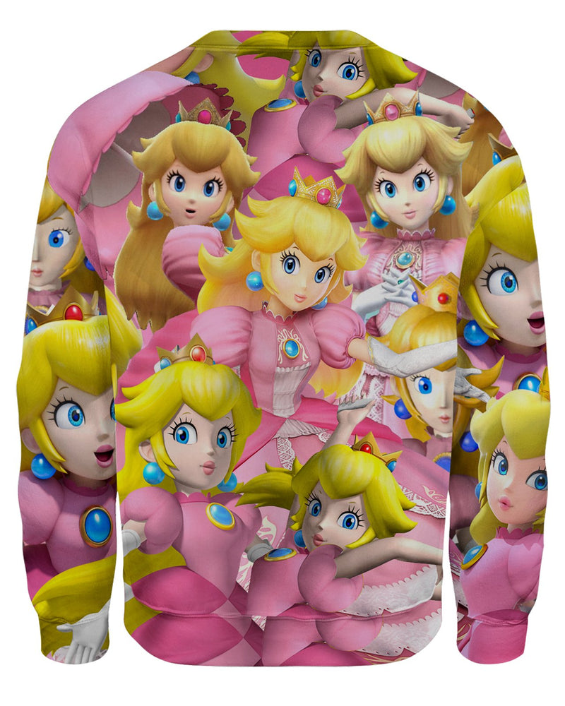 Peach Super Smash Bros Unisex Sweatshirt