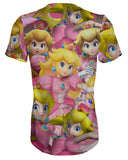 Peach Super Smash Bros T-shirt