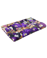 Waluigi Super Smash Bros Fluffy Micro Fleece Throw Blanket