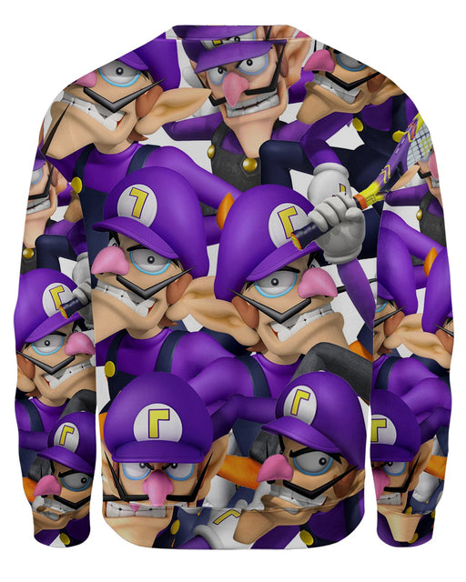 Waluigi Super Smash Bros Sweatshirt