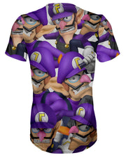 Waluigi Super Smash Bros T-shirt