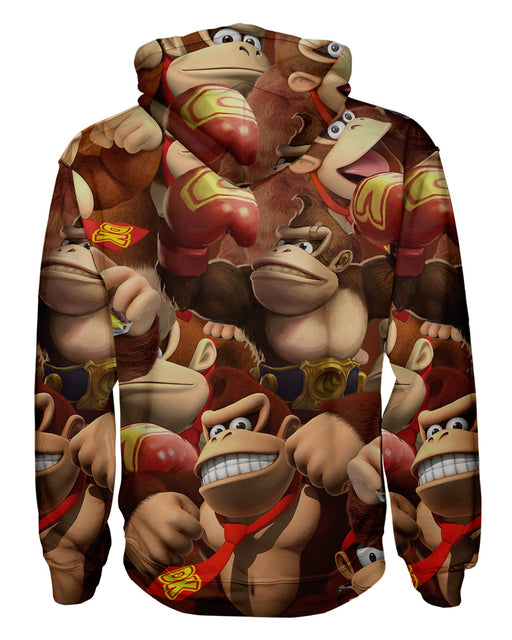 Donkey Kong Pullover Hoodie
