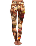 Donkey Kong Yoga Leggings