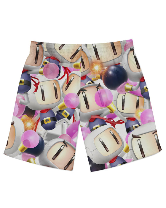 Bomberman Super Smash Bros Athletic Shorts