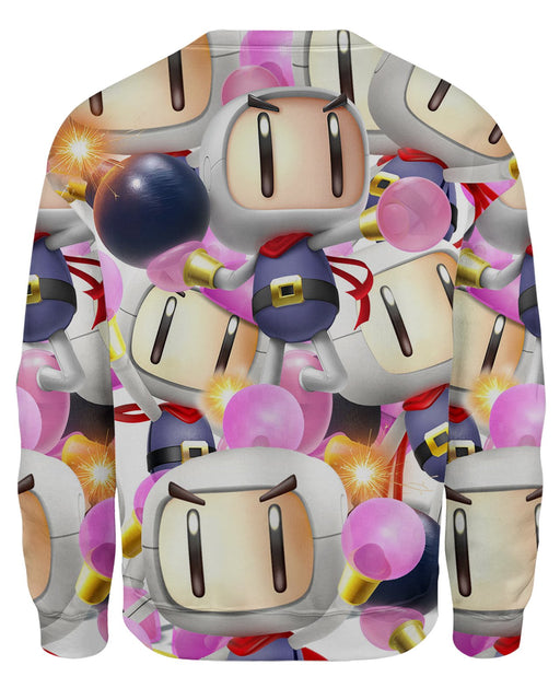 Bomberman Super Smash Bros Sweatshirt