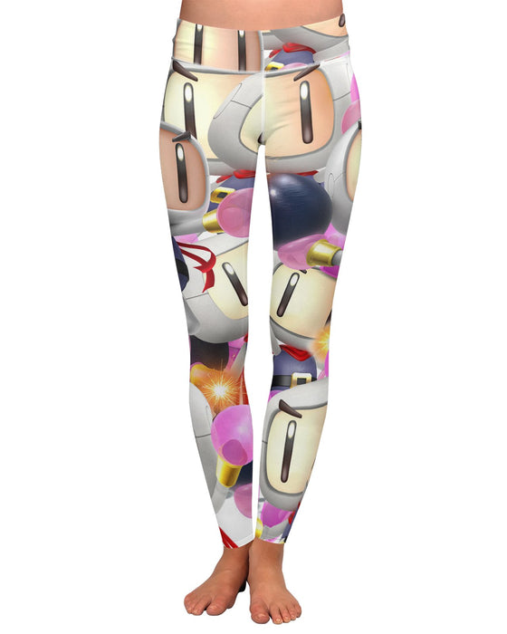 Bomberman Super Smash Bros Yoga Leggings