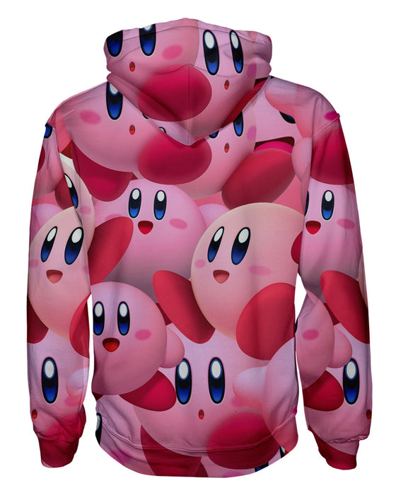 Kirby Super Smash Bros Pullover Hoodie