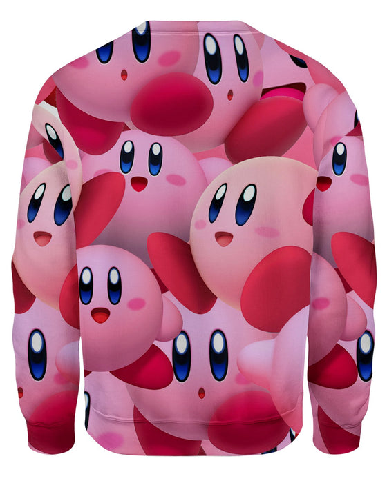 Kirby Super Smash Bros Sweatshirt