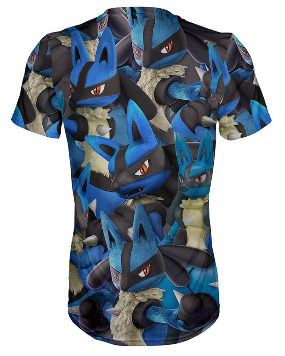 Lucario Super Smash Bros T-shirt