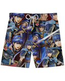 Marth Super Smash Bros Athletic Shorts