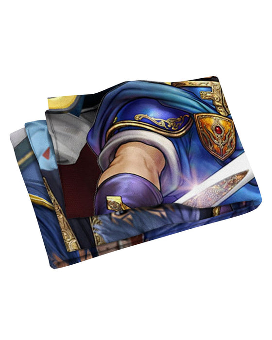 Marth Super Smash Bros Beach Towel