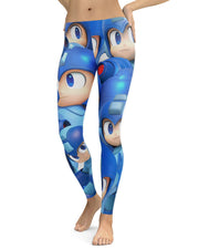 Megaman Super Smash Bros Leggings