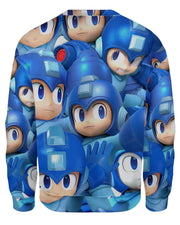 Megaman Super Smash Bros Sweatshirt