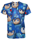 Megaman Super Smash Bros T-shirt