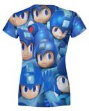 Megaman Super Smash Bros Women's T-shirt