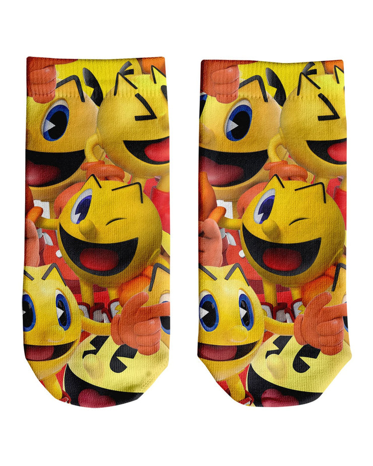 Pacman Super Smash Bros Ankle Socks