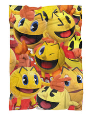 Pacman Super Smash Bros Fluffy Blanket