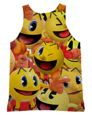 Pacman Super Smash Bros Tank-Top