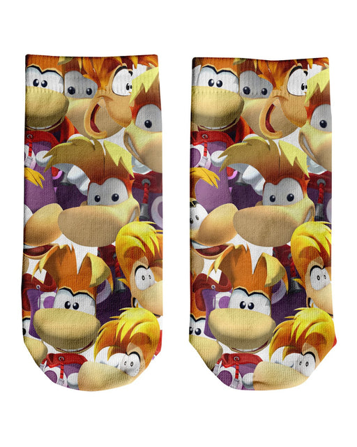 Rayman Super Smash Bros Ankle Socks