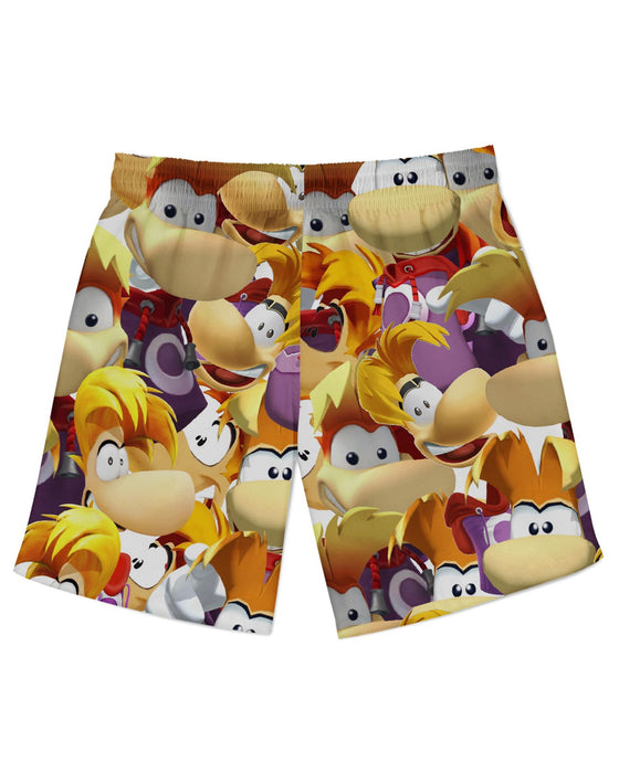 Rayman Super Smash Bros Athletic Shorts
