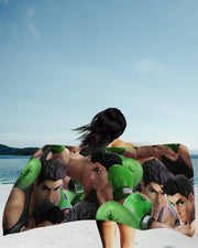 Little Mac Super Smash Bros Beach Towel