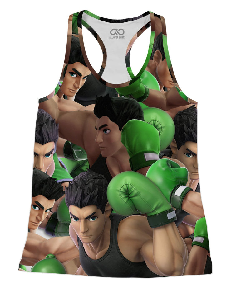 Little Mac Super Smash Bros Racerback-Tank