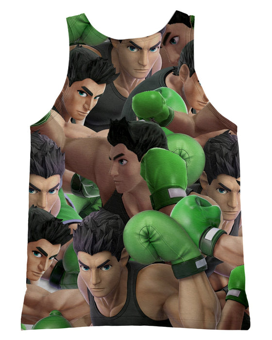 Little Mac Super Smash Bros Tank-Top