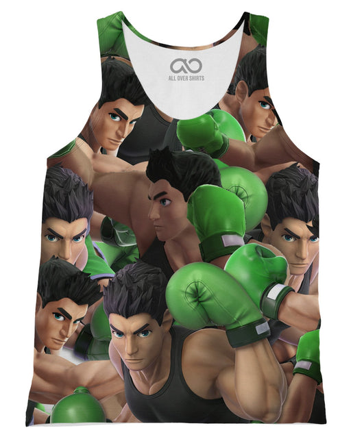 Little Mac Super Smash Bros printed all over in HD on premium fabric. Handmade in California.