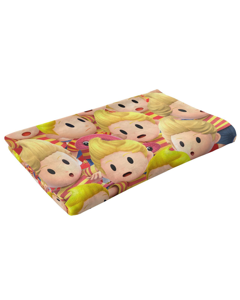Lucas Super Smash Bros Fluffy Micro Fleece Throw Blanket