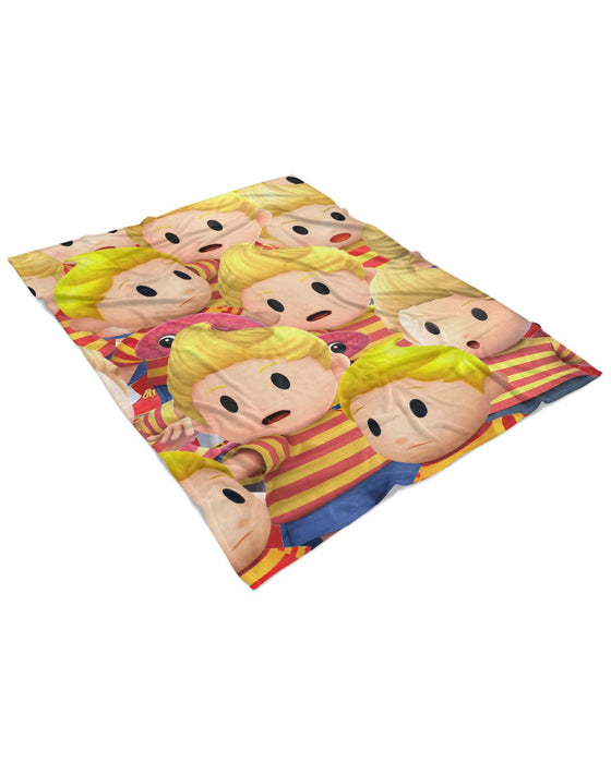 Lucas Super Smash Bros Fluffy Blanket