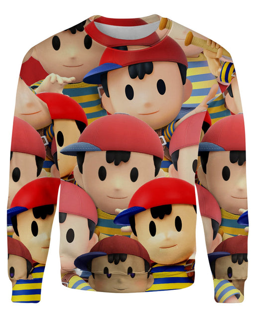 Ness Super Smash Bros Sweatshirt