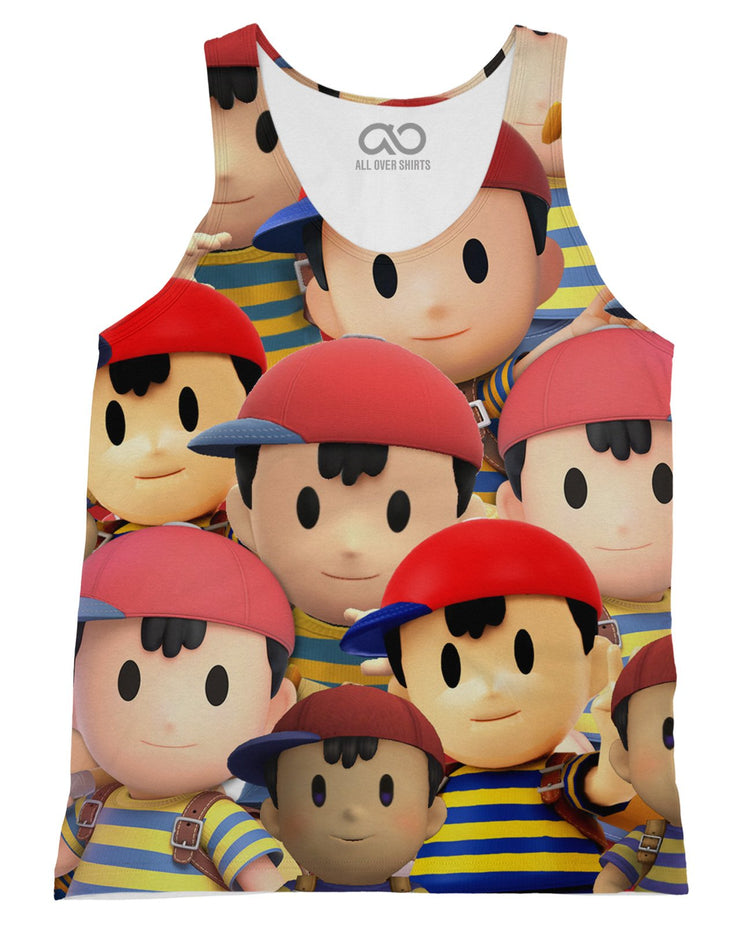 Ness Super Smash Bros Tank-Top